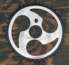 3 Spoke 44t Chainring   BMX Vintage Schwinn Bicycle Chopper Cruiser Bike Crank