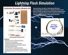 1 Kit Lightning FLASH Simulator DIY Project  NEW -for Model RR & Diorama App #23
