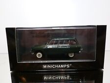 MINICHAMPS 111671 CITROEN AMI 6 BREAK 1967 - DARK GREEN 1:43 - EXCELLENT IN BOX