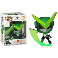 Blizzcon 2019 Funko Pop Overwatch Sentai Genji Exclusive Blizzard Vinyl Figure