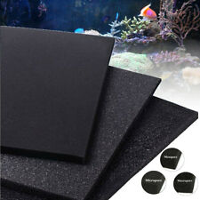 100x100cm Biological Cotton Filter Foam Pond Aquarium Fish Tank Sponge Pad  NEW
