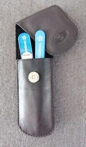 Pfeilring Solingen Manicure Case, Pocket Case, 2-teilig, File+Tweezers
