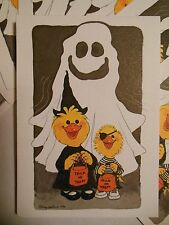 Vintage Halloween Party Invitations Children's Costume Party Trick or Treat NEW