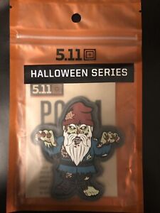 RARE NEW 5.11 TACTICAL POTM PATCH OF THE MONTH OCTOBER 2020 ZOMBIE GNOME
