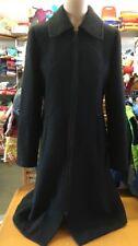 Tuzzi Mantel Gr 36 Schwarz Wollmantel 49% Wolle mit Zip & Taschen 1A Zustand