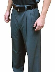 """Smitty """"Expansion Waist"""" Combo Umpire Pants Charcoal BBS-375"""