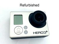 Refurbished GoPro HERO 3+ Plus silver 1080P 10MP Sport Action Camera Camcorder