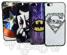 COVER Case SUPEREROI iPhone 4 4S 5 5S 6 6S 7 Plus CAPITAN captain AMERICA JOKER