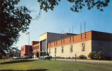 Columbus Ohio 1950s Postcard New Student Union Building at Ohio State University