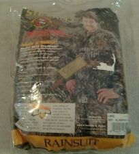 Stearns Realtree All-Purpose Hunting grey camo Raingard Drywear Rainsuit szL NIP