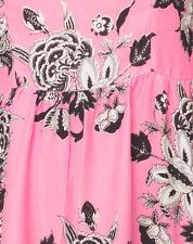 Vestiti da donna stretch rosa con girocollo
