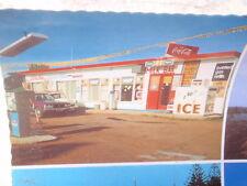 Port Fairy, Amoco pump, caravan park, 1970's Card