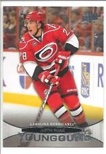 JUSTIN FAULK 2011-12 Upper Deck YOUNG GUNS Rookie Card RC #205