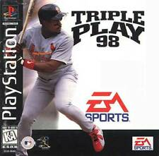 Triple Play 98 - PS1 PS2 Playstation Game