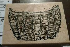 Half of a wire mesh basket, Annette Watkins,10,rubber,stamp