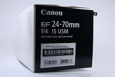 Canon EF 24-70mm f/4L Lente. 43 IS USM