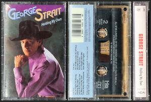 George Strait  Holding My Own NEW SEALED  MCAC-10532 Cassette Tape MCA 1992