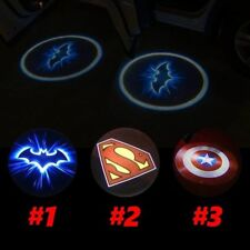 2x Wireless Welcome Light LED Logo Projector Ghost Shadow light Laser Lights