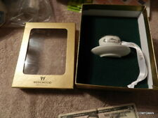 Wedgwood China Mini Tea Cup Christmas Ornament in Box First Class Mail
