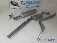 IMASAF Auspuffanlage komplett  Mercedes S-Klasse W108 + W109 + W111 + Coupe