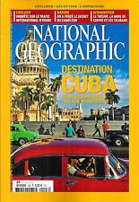 NATIONAL GEOGRAPHIC N°192 SEPTEMBRE 2015 SPECIAL CUBA/ TRAFIC D'IVOIRE/ CAMELEON