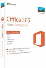 Microsoft Office 365 Home English APAC DM Subscr 1yr Medialess P2