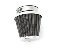 Chrome Pod Air Filter - 50mm - Honda Motorcycle CB350 CB360 CB450 CB500T CB CL