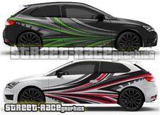 Seat Leon FR Cupra Rally 021 racing motorsport  graphics stickers decals vinyl