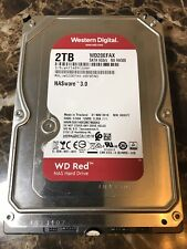 WD Red Internal Hard Drive WD20EFAX 68FB5N0 2TB RPM 256MB Cache