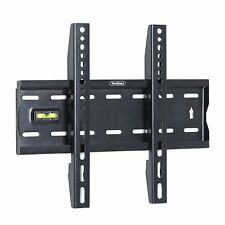 TV Wall Mound Bracket Holder Fixed Stand 15-42'' Strong Hold 40kg Level Meter