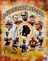 Redskins Quarterback Legends Autographed 16x20 PF Photo- JSA W Auth *Kilmer N/O