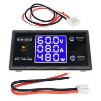 DC 100V 10A 1000W Digital LCD Voltmeter Ammeter Voltage Current Volt Power Meter