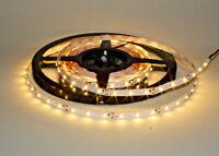 1m -10m LED Strip für indirekte Beleuchtung Warm weiß  Stoßfest Dimmbar 12V IP33