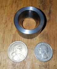 "COIN RING REDUCTION - FOLD OVER DOUBLE DIE 1.0"" & 1.1"" MACHINED TO 17 DEGREES"