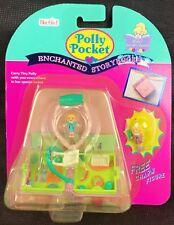 Polly Pocket Garden Sparkle Book Locket Necklace Bracelet NEW MOC 1995 RARE