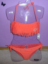 Damen Push-up Bikini 2-tlg. Set Cup C 44 85 242739 in Malve//Hellmint