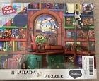 Huadada Jigsaw Puzzle Bizarre Bookshelf New In Sealed Packaging