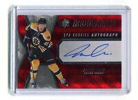 2014-15 SPX Hockey Rookies #132 Joe Morrow Bruins Autographed Jersey jh5