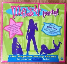 MASH Pajama Party Game Swingset Press Schylling Board M.A.S.H.