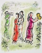 The Festival (The Odyessy), 1989 Limited Edition Lithograph, Marc Chagall