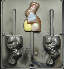 Bunny with Bow on Neck Lollipop Chocolate Candy Mold Easter 1836 NEW