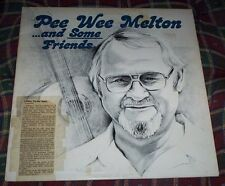 Pee Wee Melton and Some Friends recorded at Mark Five in Greenville SC Vinyl LP