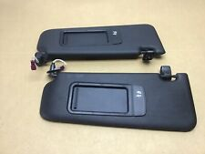 BMW 3 SERIES E90 E91 E92 PAIR OF SUN VISORS M SPORT BLACK SUNVISOR