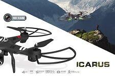 2.4 GHz RC Quadrocopter Icarus 2.0 mit HD Kamera RC Drohne Q303-C 7,4V 1500 mAh