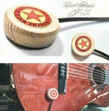 pickup piezoelettrico a contatto per chitarra, ukulele, mandolino, violino.