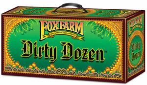 FOXFARM DIRTY DOZEN STARTER KIT NUTRIENT TIGER BLOOM GROW BUSHDOCTOR