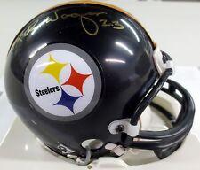 Mike Wagner Autographed Pittsburgh Steelers Mini Helmet - SCC COA