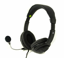 EYE-T BL-899 HI-FI BLACK HEADSET WITH MICROPHONE 3.5MM JACKS *RETAIL BOXED