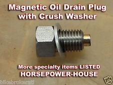 12mm MAGNETIC OIL DRAIN PLUG BOLT HONDA FOREMAN TRX450ES TRX450S TRX400FW MORE +