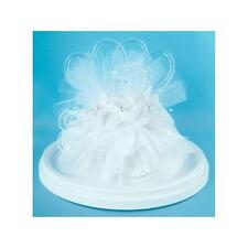 Laura Lee's Cake Topper Two Hearts and Swan 5 1/2 Inch Tall, NEW